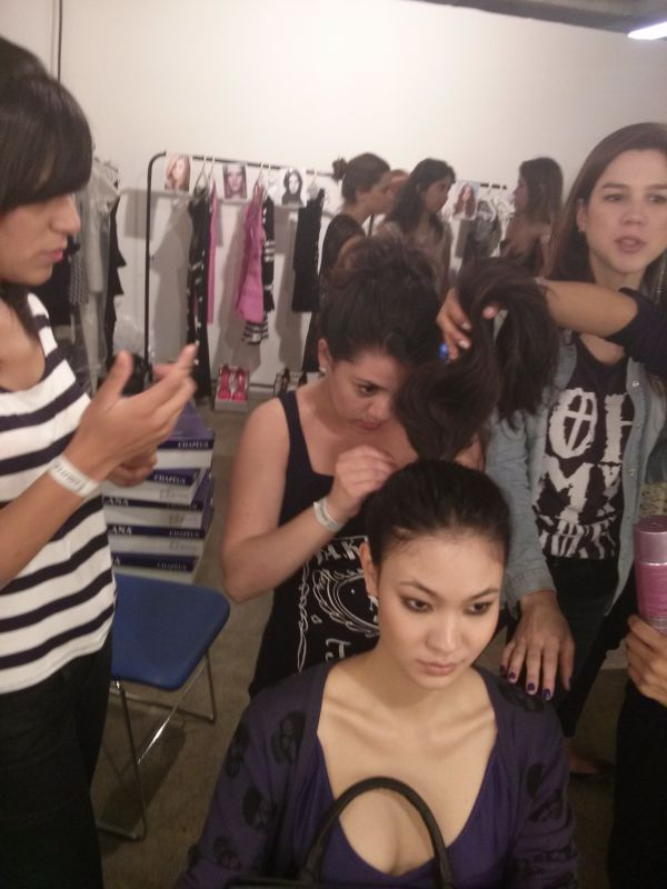 backstage 2 fashion day in 2013