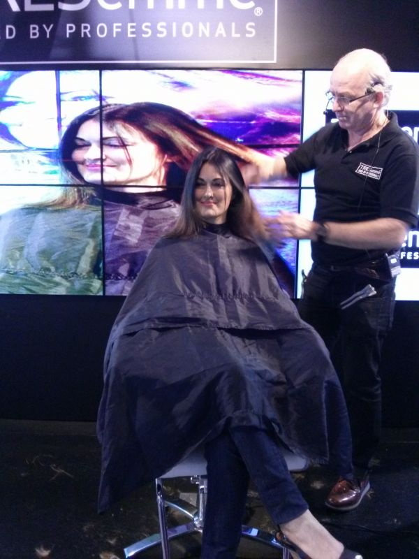 palco tresemme 1 beauty fair 2013